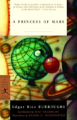 A Princess of Mars By Burroughs, Edgar Rice/ Bradbury, Ray (INT)/ Schoonover, Frank E. (ILT)